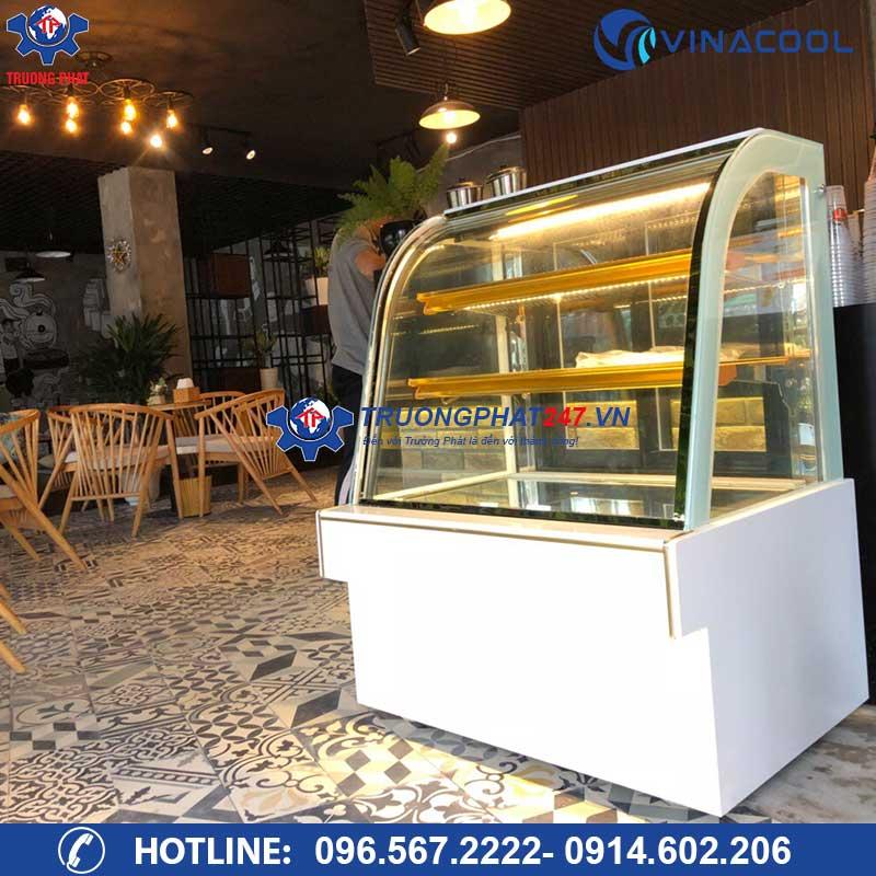 Tủ trưng bày bánh kem kính cong DH 900