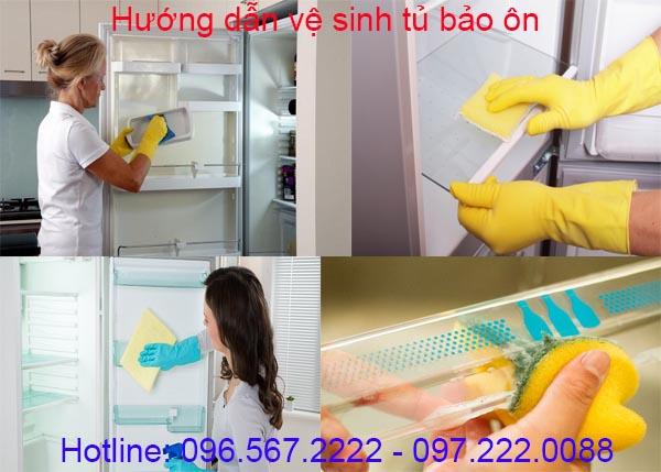 Thời gian trung bình bạn nên vệ sinh tủ bảo ôn là từ 2 tuần cho đến 4 tuần/ lần