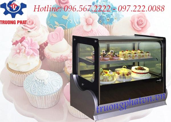 Tủ trưng bày bánh kem để bàn có tính năng chống gỉ sét tốt