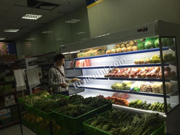 Tủ siêu thị bảo quản rau củ SPG