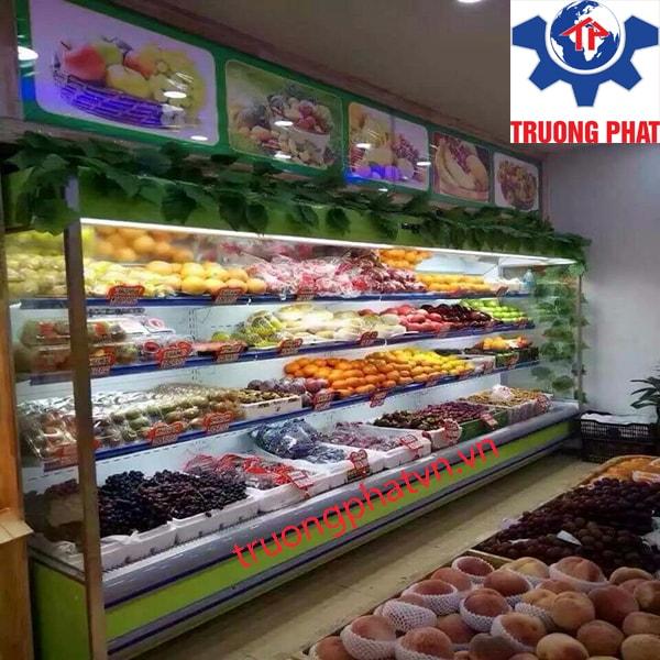 Gợi 3 mẫu tủ siêu thị chuyên bảo quản rau củ