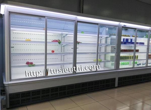 Tủ siêu thị bảo quản rau củ SLG-1500FYA