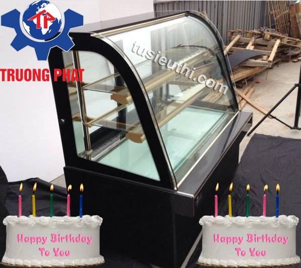 Tủ đựng bánh sinh nhật dạng kính cong SGF