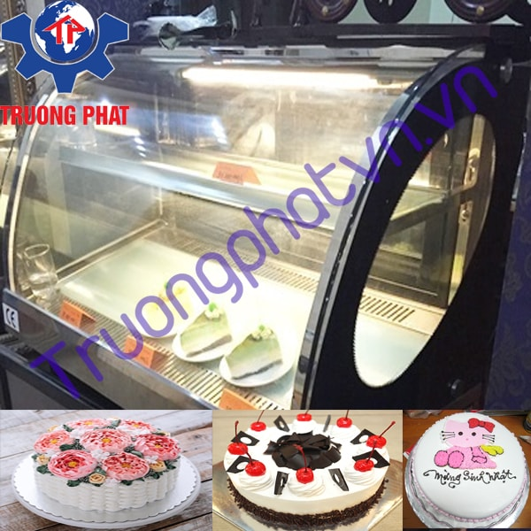 Tủ trưng bày bánh kem mini 90cm