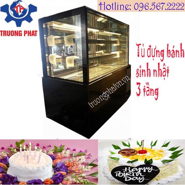 Đánh giá chung về tủ đựng bánh sinh nhật 3 tầng