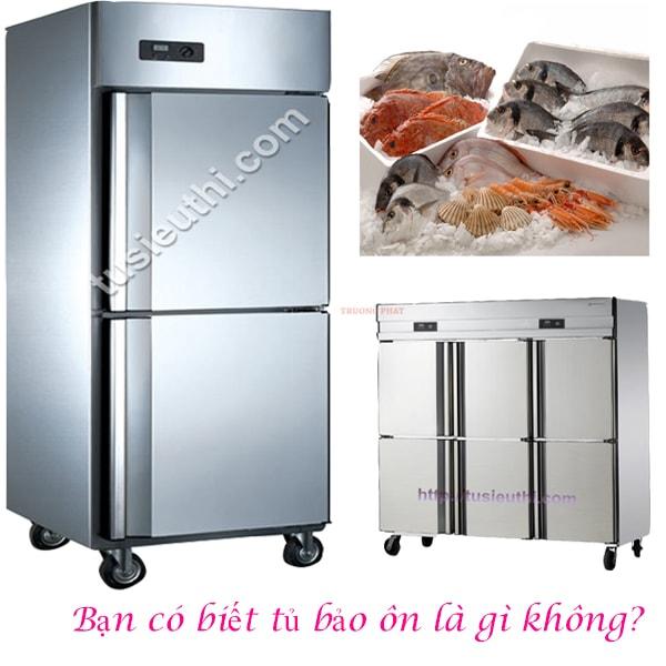 Tủ bảo ôn có tác dụng chính là giữ nhiệt để bảo quản thực phẩm
