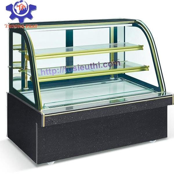 Tủ kính cong giúp sản phẩm hấp dẫn khách hàng hơn
