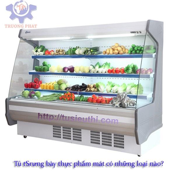Tủ trưng bày thực phẩm mát có những loại nào?