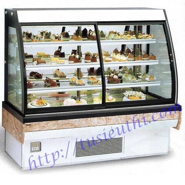 Tủ bánh kem kém mát do điều chỉnh sai chế độ nhiệt