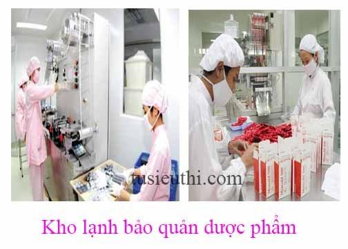 Kho lạnh công nghiệp dược phẩm