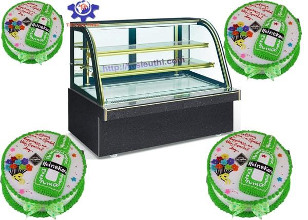Mẹo dùng tủ trưng bày bánh kem giúp bánh luôn đẹp và ngon