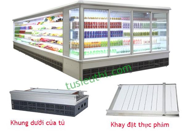 Thiết kế của tủ bảo quản thực phẩm