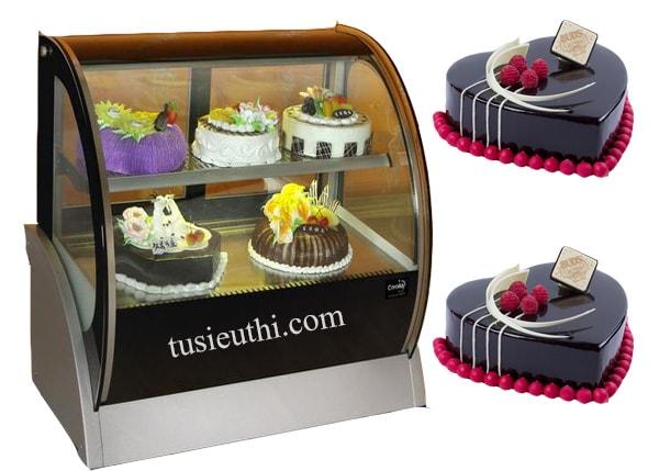 Ưu điểm của tủ trưng bày bánh kem để bàn