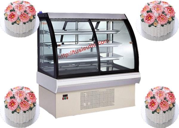 4 yếu tố quyết định đến giá của tủ trưng bày bánh kem