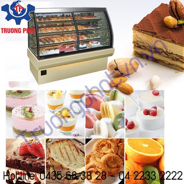 Tầm quan trọng của việc điều chỉnh nhiệt độ tủ trưng bày bánh kem