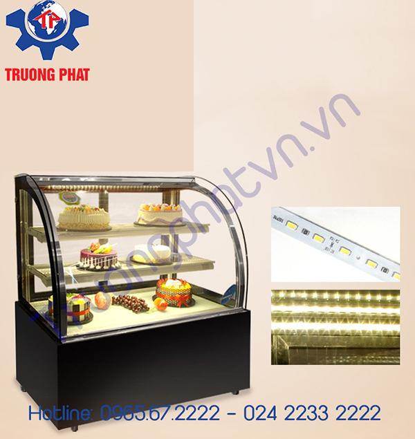 Lắp đặt tủ trưng bày bánh kem an toàn