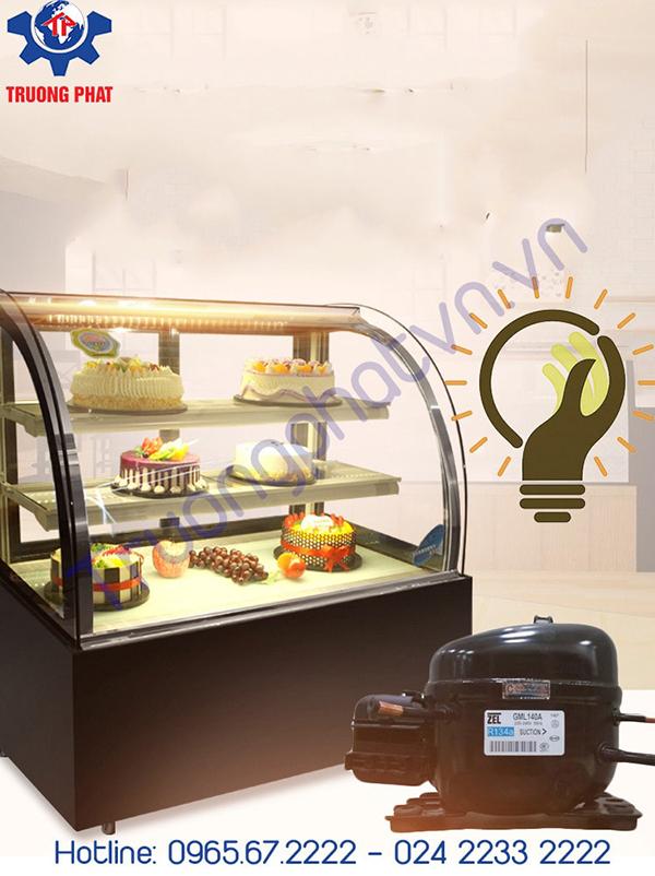 Làm sao để tủ trưng bày bánh kem hoạt động ổn định?