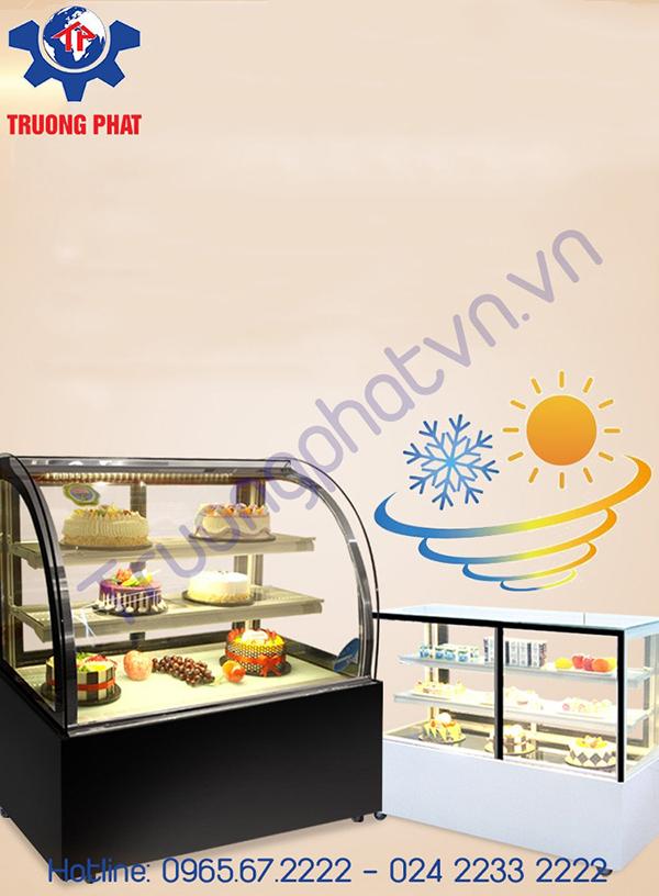 Chọn tủ trưng bày bánh kem chất lượng tốt