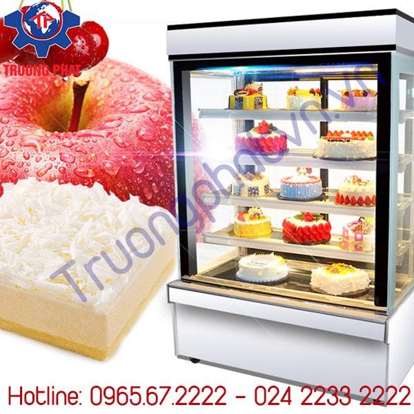 Mẹo hay giúp tủ trưng bày bánh kem không bám sương mờ