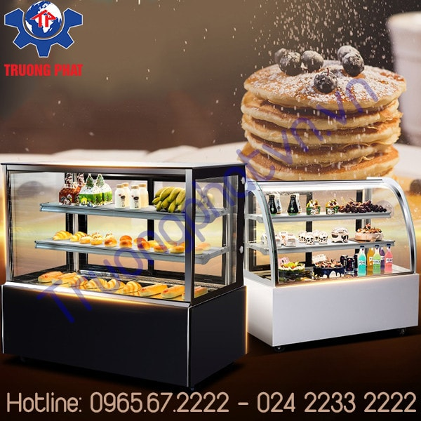 Sai lầm khi để nhiệt độ của tủ bánh kem quá thấp