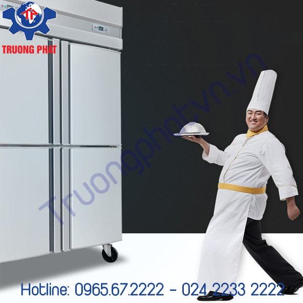 Chất liệu tủ bảo ôn 4 cánh 1 chế độ đông