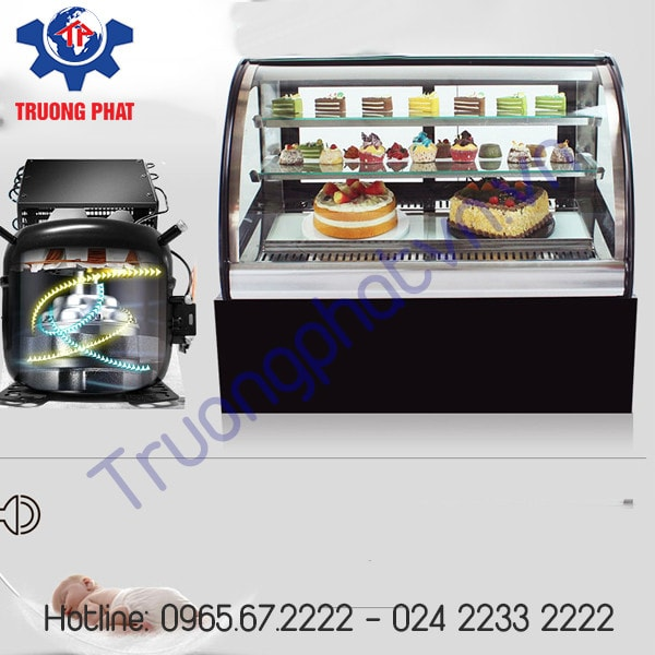 Tủ trưng bày bánh kem giá rẻ