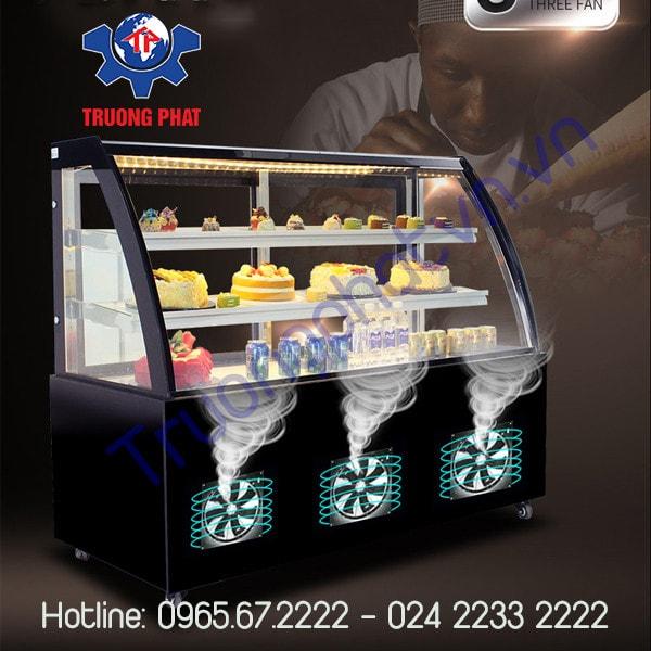 Tủ trưng bày bánh kem tốt dùng lốc nhập khẩu