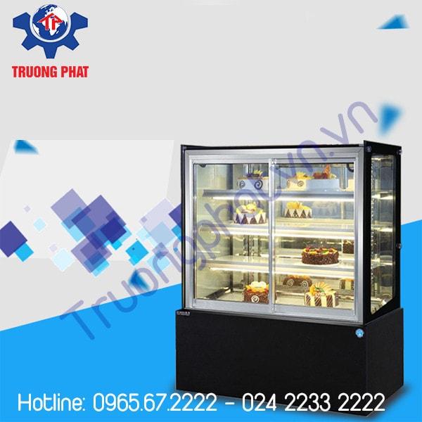 Tủ trưng bày bánh kem đa dạng thiết kế