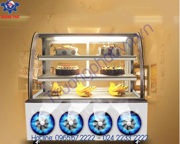 Mách bạn địa chỉ chuyên bán tủ bánh kem Hà Nội
