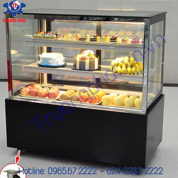 Tủ trưng bày bánh kem Trường Phát có nhiều ưu điểm vượt trội