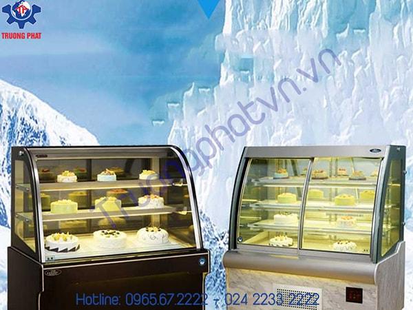Mách bạn địa chỉ số 1 mua tủ trưng bày bánh kem tại Hà Nội
