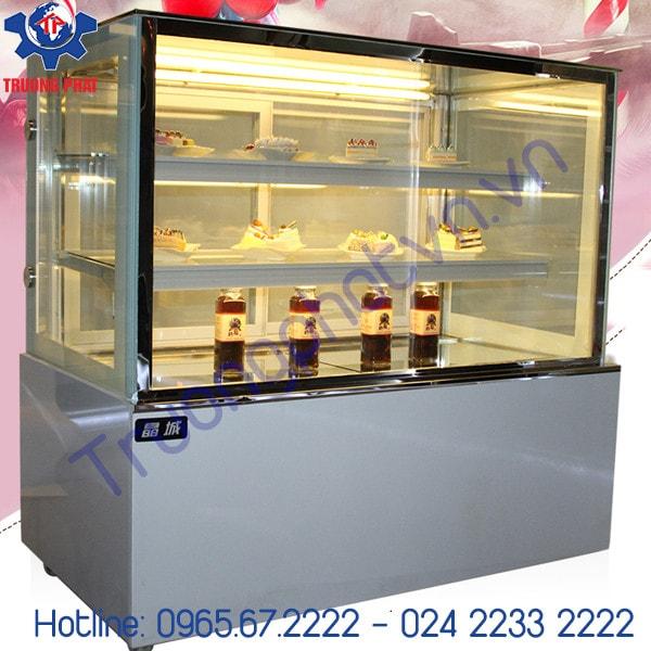 Làm sạch tủ trưng bày bánh kem bằng bột ngô