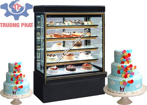 Tủ trưng bày bánh ngọt 5 tầng 1.5m giá bao nhiêu?
