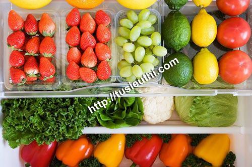 Cách bảo quản thực phẩm đúng cách trong tủ mát siêu thị