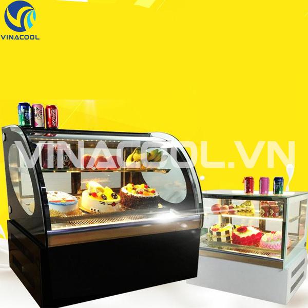 Chia sẻ kinh nghiệm mua tủ trưng bày bánh kem để bàn mini giá rẻ tại Hà Nội