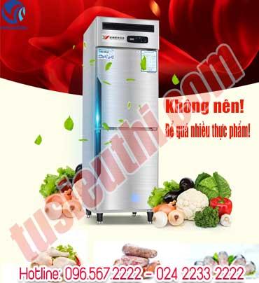 Những nguyên nhân khiến tủ bảo quản thực phẩm mini kém lạnh
