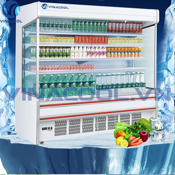 Phân loại tủ mát trưng bày siêu thị thông dụng hiện nay