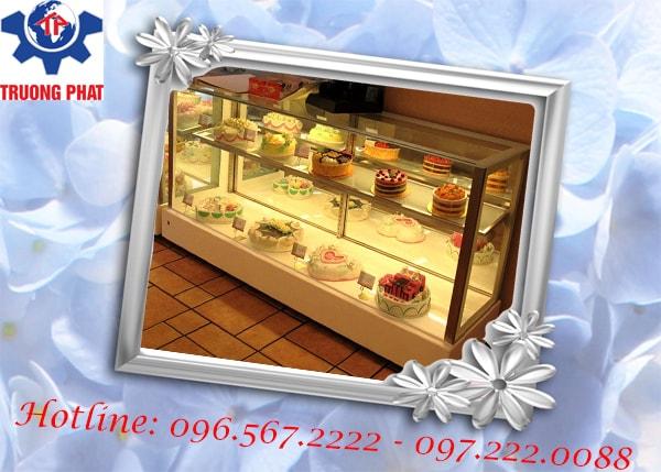 Bạn đã biết về hiệu quả bảo quản của tủ trưng bày bánh gato?