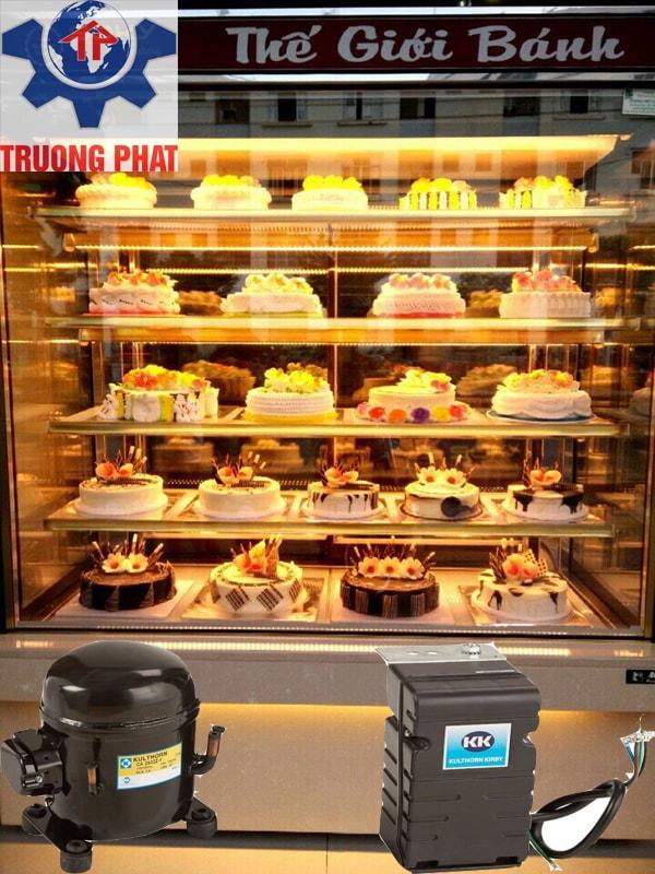 Nên chọn loại block nhập khẩu cho tủ trưng bày bánh kem