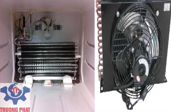 Nguyên nhân khiến tủ bảo ôn giá rẻ bị hỏng quạt dàn lạnh