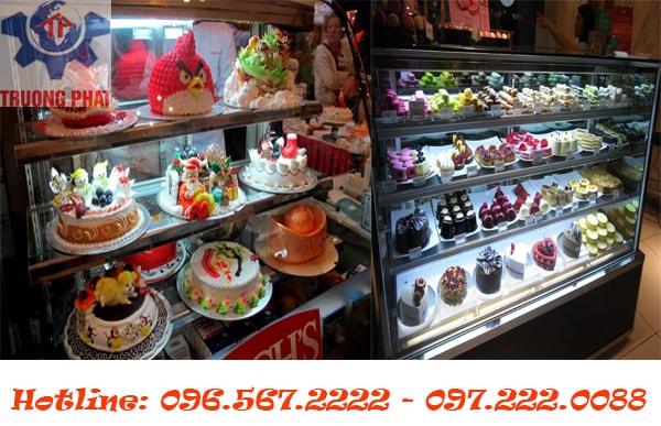 Tìm hiểu giá tủ trưng bày bánh kem