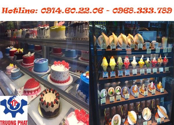 Giá tủ trưng bày bánh kem đi đôi với chất lượng
